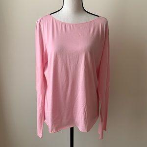 J. Jill Pink Long Sleeve Shirt